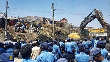 Death Toll Rises In Ethiopian Trash Dump Landslide